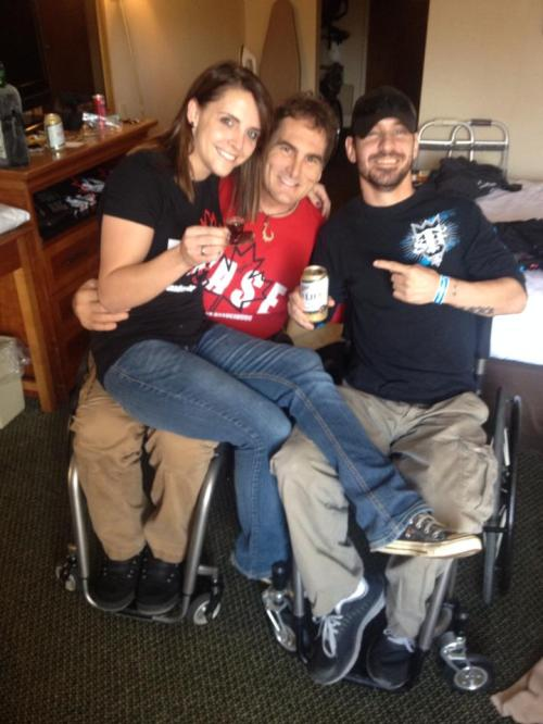 Sarah Ann, Lonnie Bissonnette, and Andy
