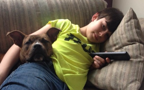 Foster brother and Henry